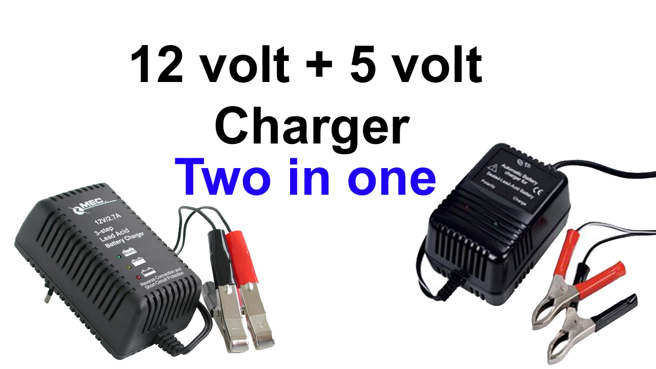 how to make 12 volt charger and 5 volt charger two in one. Black Bedroom Furniture Sets. Home Design Ideas