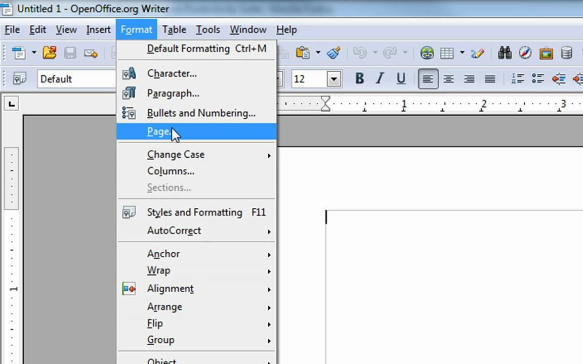 How To Change Margins In Openoffice Org 4 Steps With Pictures