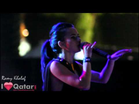 Inna Live in Doha brought to you by InterContinental, GlobalDJs, & iLoveQatar.net