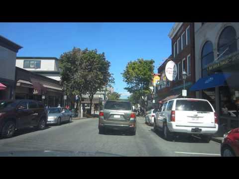 A Drive Through Bar Harbor Maine September 2014