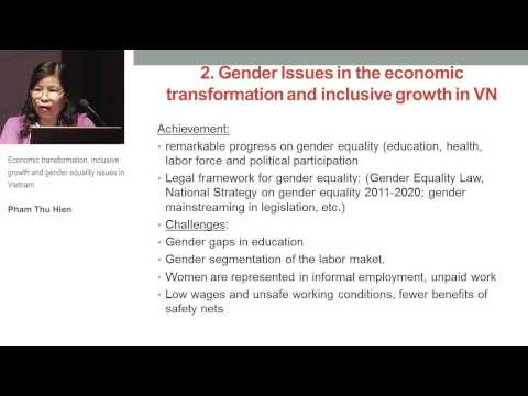 TIS Conference - Gender inequality in Vietnam (4.2)