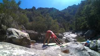 Vinyasa Flow in themiddle of beautiful nature in Corte, Corsica