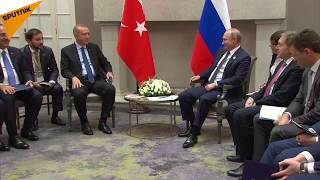 Putin'den Erdoğan'a Restoran Esprisi
