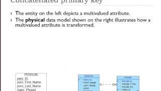 Database Fundamentals (9 of 10) - Multivalued Attributes
