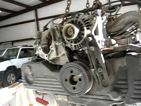 99 Subaru Forester Engine Removal