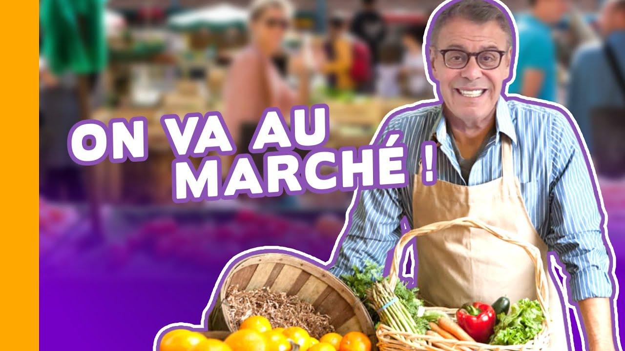 Aller au marché, c'est que du bonheur ! 😋