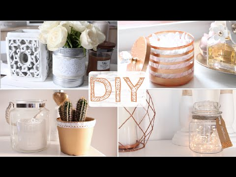 diy 4 objets d co cuivre dentelle youtube. Black Bedroom Furniture Sets. Home Design Ideas
