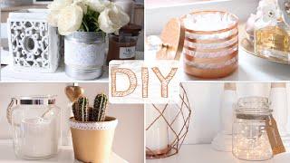 ♡ DIY - 4 objets déco (cuivre & dentelle)