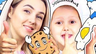 КУХНЯ Свинки Пеппы Из игрушечной еды в Настоящую Амелька научилась вкусно готовить Видео для детей