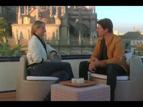 'Knight and Day' Tom Cruise & Cameron Diaz Set Interview in Sevilla