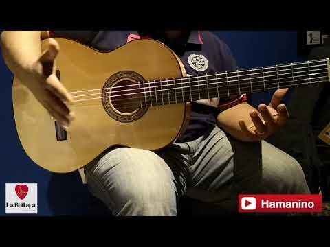 Manuel Rodríguez flamenco guitar review: F Sabicas  استعراض جيتار مانويل رودريقوز C3 FLAMENCO