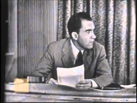 Richard Nixon-Checkers Speech (9/23/1952)