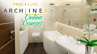 Bathroom Design - ARCHLine.XP Preliminary Interior Design Course 3