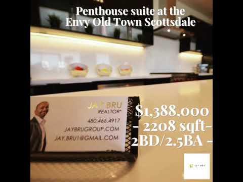 Penthouse condo in Old Town Scottsdale Arizona