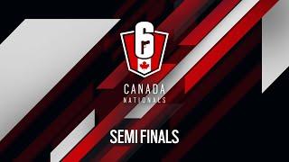 Rainbow Six Siege: LIVESTREAM Canada Nationals - Year Two   Semi Final