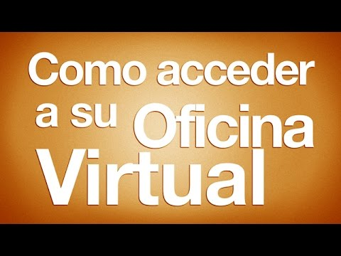 como acceder a su oficina virtual youtube