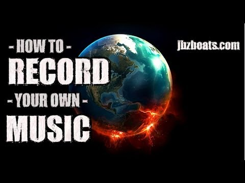 How to record AND produce your own music AND MAKE IT SOUND GOOD - For Free