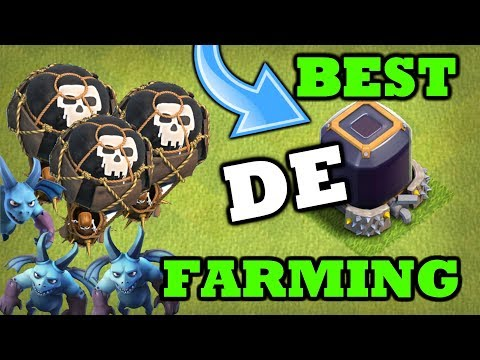 Best DE(Dark Elixir) Farming Strategy in Clash Of Clans (Th9 / Th10 / Th11) | Max Heroes Fast !!