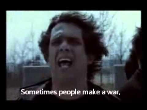 Speak - Stop The War (lyrics/subtitles)