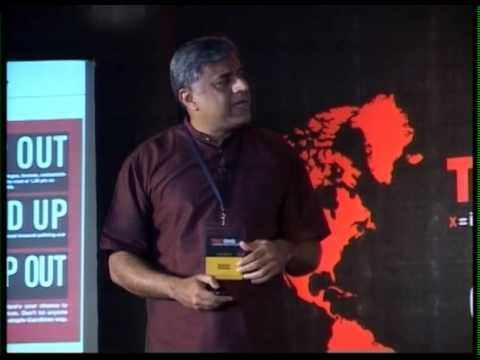 Connecting, confronting and transforming cultures: Rajeev Gowda at TEDxBMS