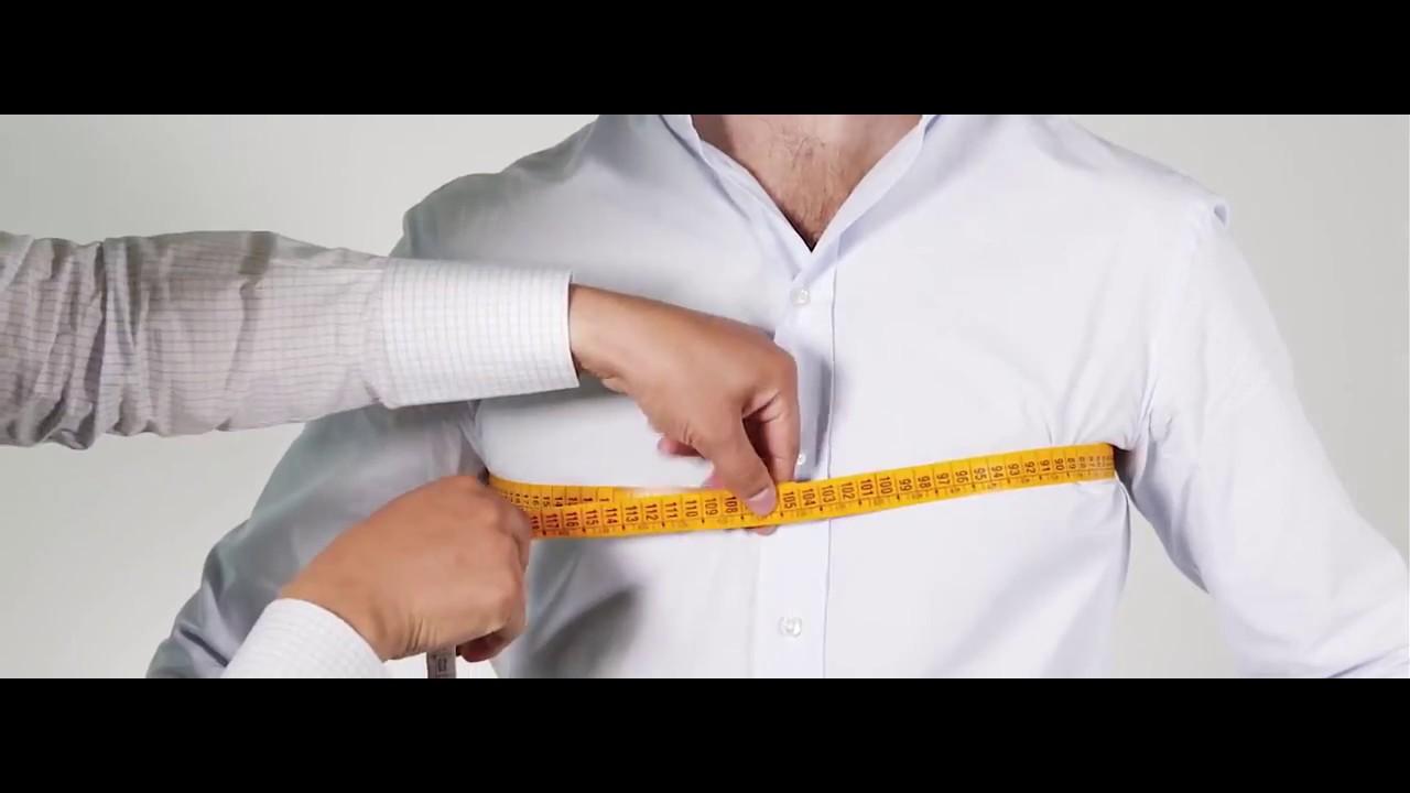 3f3dcd205 Como medir el pecho - YouTube