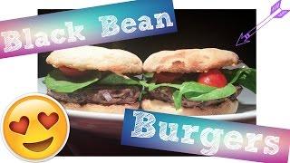 Black Bean Burger Recipe | Low Fat & Vegan!