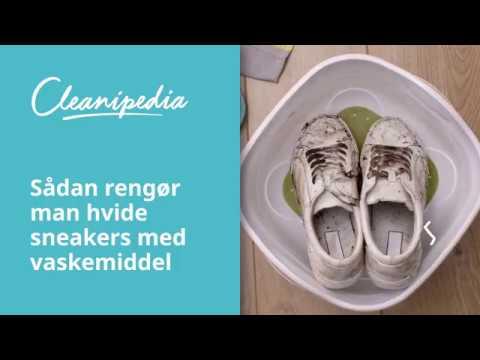 Få gode råd til at rengøre og pleje dine Skechers sneakers her