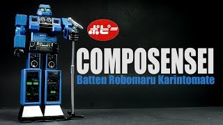 Get cool stuff at BBTS: http://bit.ly/1kRZKLP This is a review of the Composensei from Batten Robomaru Karintomate.