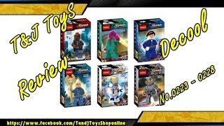 เลโก้จีนรีวิว Decool Supers Heroes No.0223 - 0228  By.T ToyS Review