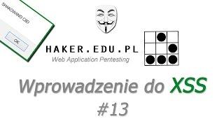 #13 Atak XSS (cross-site scripting) i JS - wprowadzenie