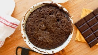 KETO CHOCOLATE CAKE IN 1 MINUTE | THE BEST LOW CARB MUG CAKE FOR KETO