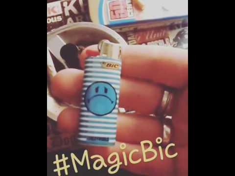 Tour de passe passe / briquet Magic bic