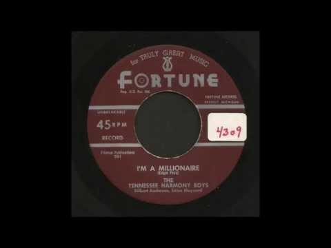 The Tennessee Harmony Boys  I'm A Millionaire  Hillbilly Gospel 45