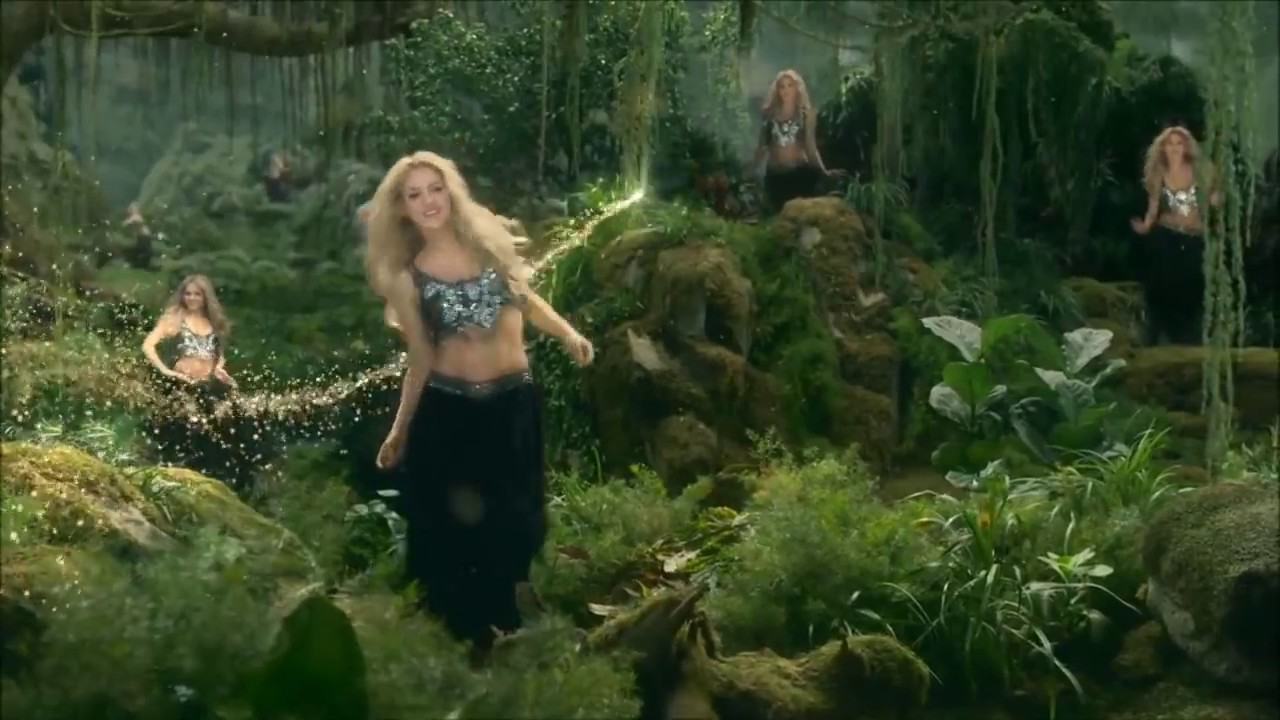 Shakira La La La Amazing Video Youtube