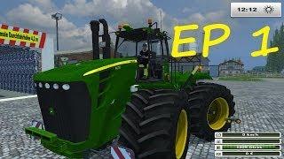 FARMING SIMULATOR 2013 [multifruit] ep1  récoltes du riz (multi)