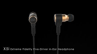 MAS X5i Extreme Fidelity Five-Driver in-Ear Headphone