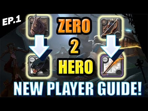 Albion Online - Zero to Hero - Tutorial Island, Duo Build Explained, City Selection, F2P! Episode 1!