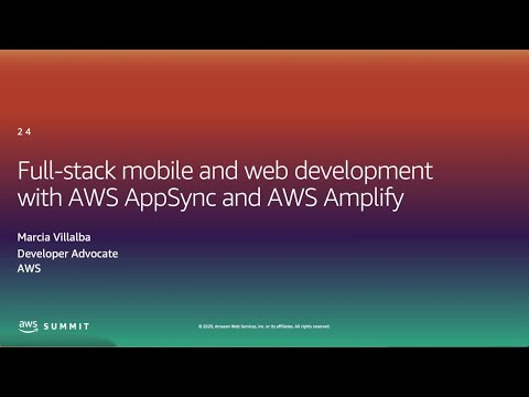 I Build Applications - Full-stack Mobile and Web Development With AWS Amplify (Level 300)