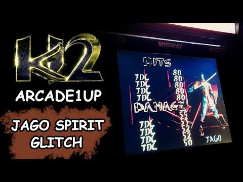 KILLER INSTINCT 2 ARCADE1UP - JAGO SPIRIT GLITCH from JDCgaming