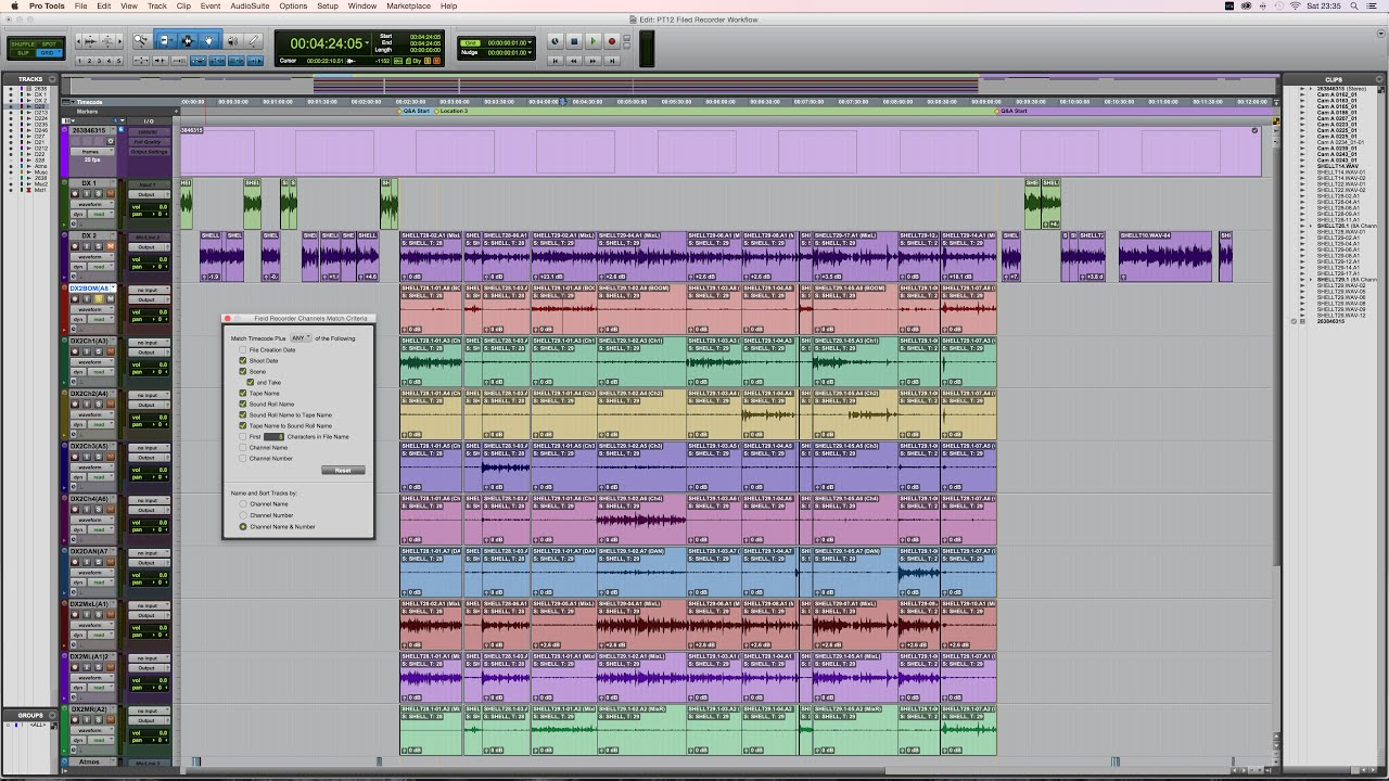 pro tools hd field recorder workflow youtube rh youtube com Pro Guide 151 Sticker pro tools hd user guide