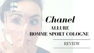 CHANEL | ALLURE HOMME SPORT cologne review