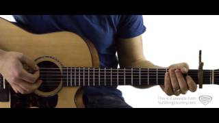 cop car guitar lesson and tutorial keith urban