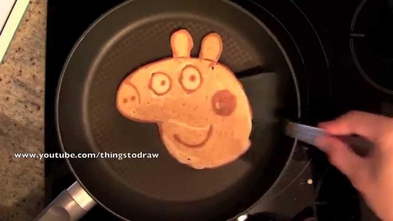 Peppa Pig Pancake Things To Draw Youtube