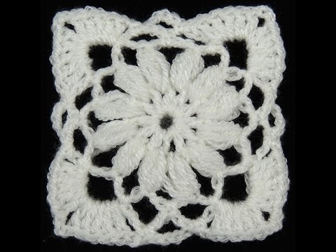 Crochet : Cuadrado # 8 YouTube