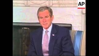 Osama bin Laden Faxes, George W. Bush soundbites on Osama bin Laden
