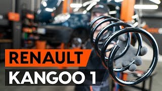 Skifte Opphengingsfjær RENAULT KANGOO: verkstedhåndbok