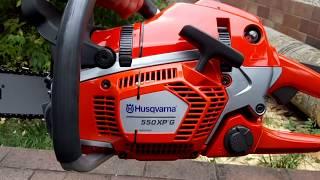 Husqvarna 550XPG NEW Chainsaw Machine Autotune