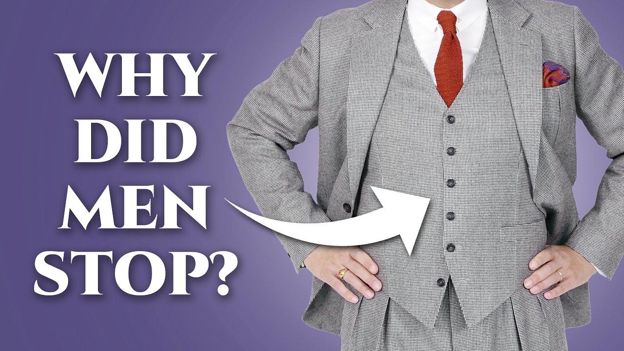 Download Why Did Men Stop Wearing Waistcoats (Vests)?
