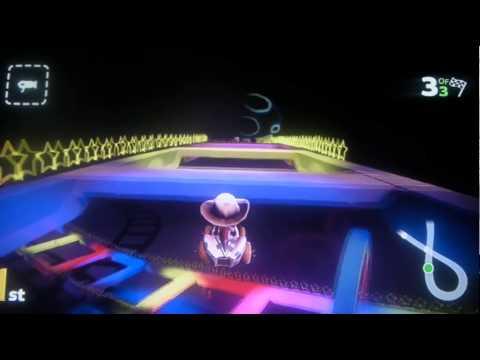 Little Big Planet Kart (Rainbow Road Mario Kart 64 custom track)