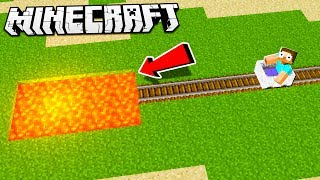 Hidden & Sneaky MINECART TROLL in Minecraft!